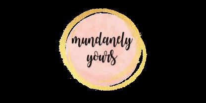 Mundanely Yours Logo Circular