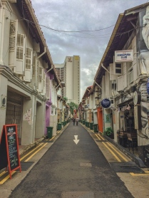 View of Haji Lane from the other end